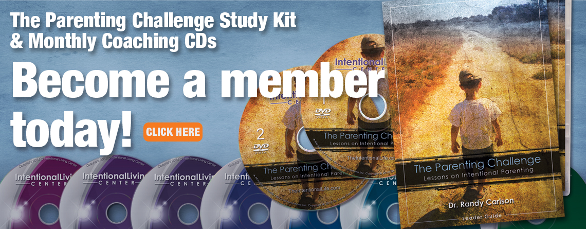 The Parenting Challenge study kit and monthly coaching kit.